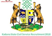 Kaduna State Civil Service Recruitment
