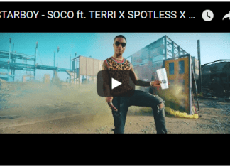 Soco' from Wizkid and His Starboy Crew