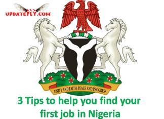 job in Nigeria