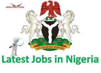 Latest Jobs in Nigeria