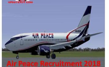 Air Peace Recruitment 2018