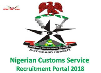 Nigeria Customs Service Recruitment 2018/2019