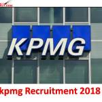 kpmg Recruitment 2018