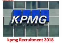 kpmg Recruitment 2018