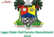 Lagos State Civil Service Recruitment