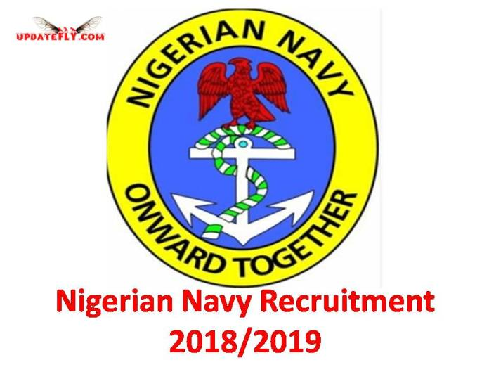 Nigerian Navy Recruitment 2018/2019