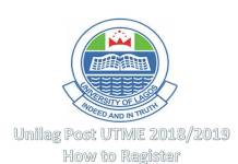 Unilag Post UTME 2018/2019
