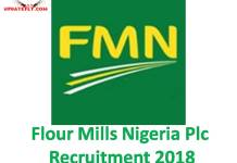 Flour Mills Nigeria Plc Recruitment 2018