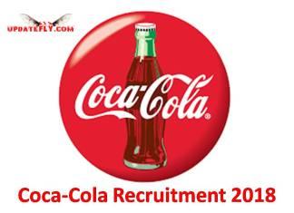 Coca-Cola Recruitment 2018
