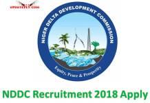 NDDC Recruitment 2018