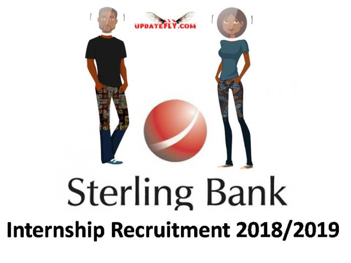 Sterling Bank Internship Recruitment 2018