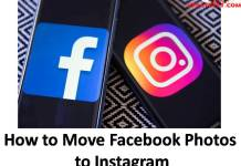 How to Move Facebook Photos to Instagram