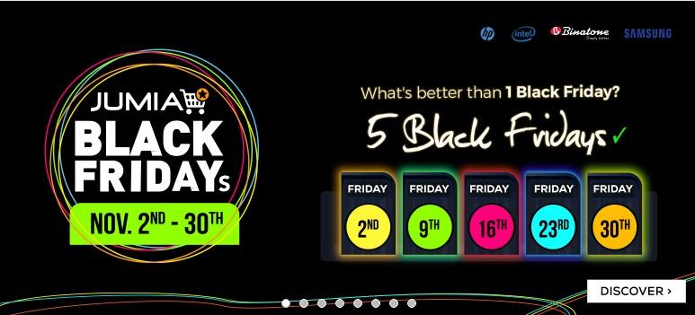 Jumia Black Friday 2018 - Jumia black friday 2018 date-jumia Kenya black friday