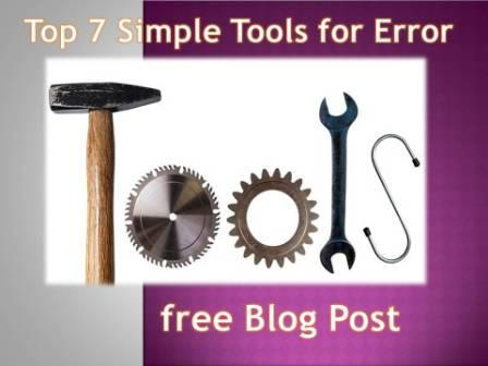 Top 7 Simple Tools for Error-free Blog Post