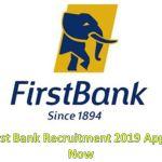 Firstbank Recruitment 2019