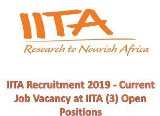 IITA Recruitment 2019