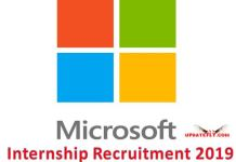 Microsoft Internship Recruitment 2019
