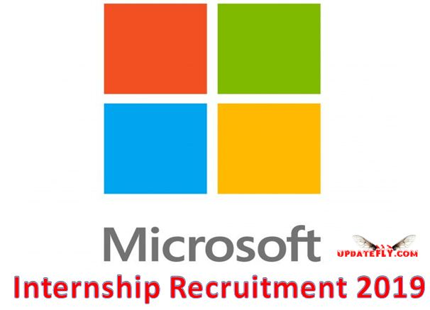 Microsoft Internship Recruitment 2019