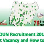 NOUN Recruitment 2019