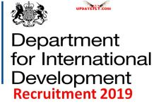 DFID Recruitment 2019