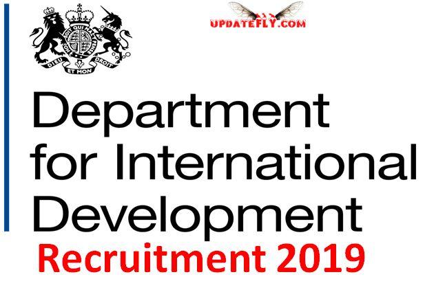 DFID Recruitment 2019