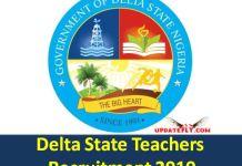 Delta State Teachers Recruitment 2019