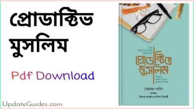 Photo of Productive Muslim Bangla pdf download