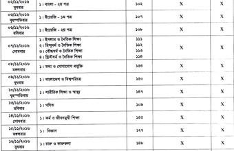 JSC Exam Routine 2016,JSC Exam result