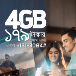 GP 4GB Internet 179Tk Offer