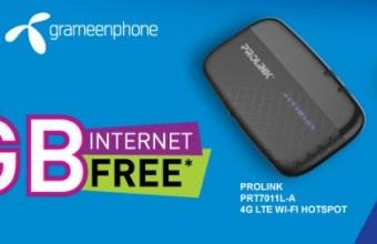GP Pro-Link 4G Modem Offer & Price Info