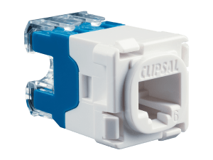 Clipsal  30RJ45SMA6  Modular Socket, Category 6, UTP, RJ45