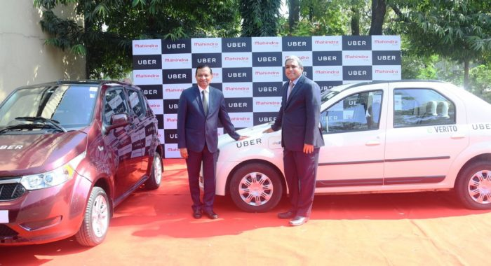 Mahindra to deploy its electric vehicles as Uber cabs