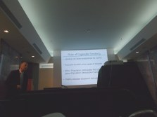 Professor Paul D Blanc and lecture 'COPD'