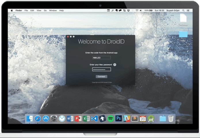 DroidID on your Mac