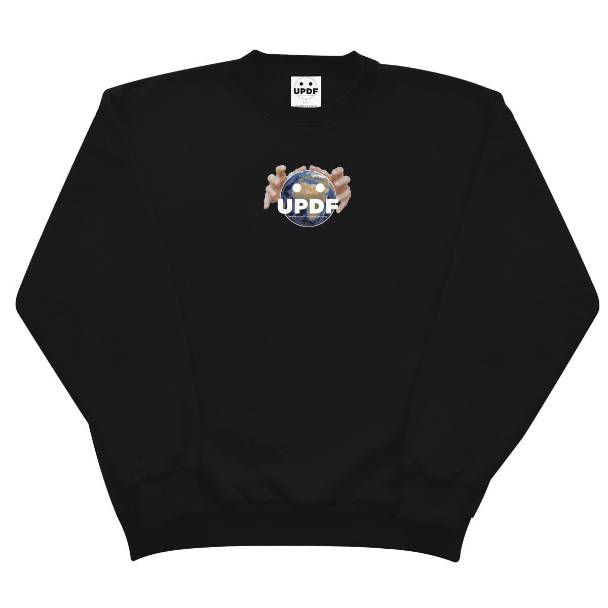 Black Planer B Sweatshirt