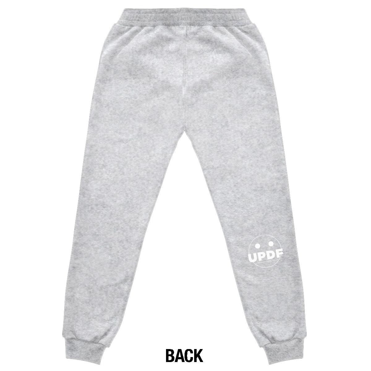 Grey melange logo Pant