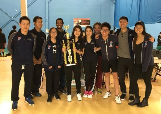 Northeast Collegiate Team Badminton Championships (April 2016 @ New Jersey)