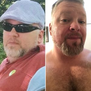Coach Keith before and after