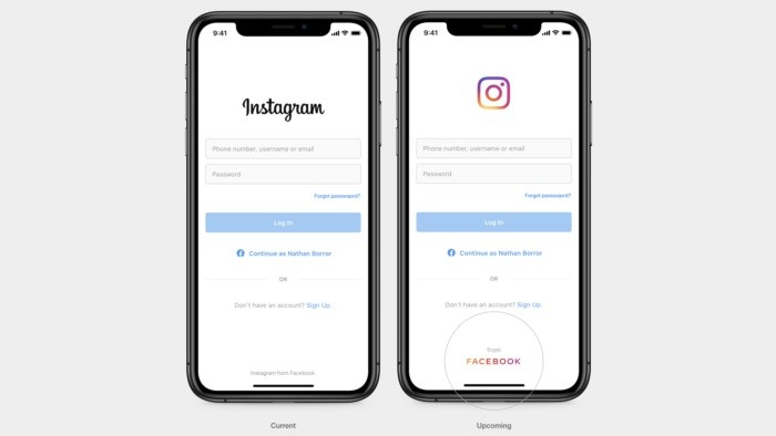 Facebook Cria Nova Logotipo Para Usar no Instagram e WhatsApp