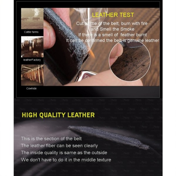 High Fashion Genuine Leather Belt for Men 4