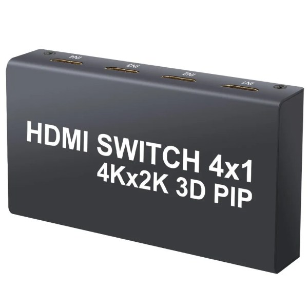 HDMI Switch with IR Remote Control (PIP) Function and DAC Converter 3