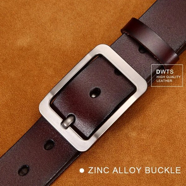 Casual Men's Genuine Leather Belt 4