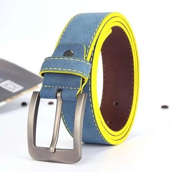 2019 Fashion Leather Belt for Men Italian Design 9
