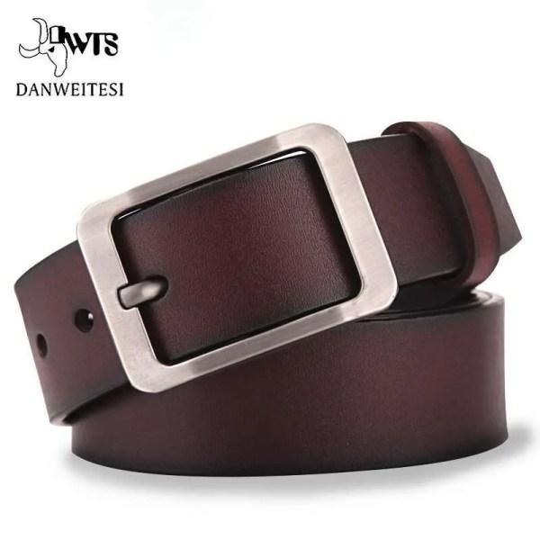 Genuine Cowskin Leather Belts for Men 2