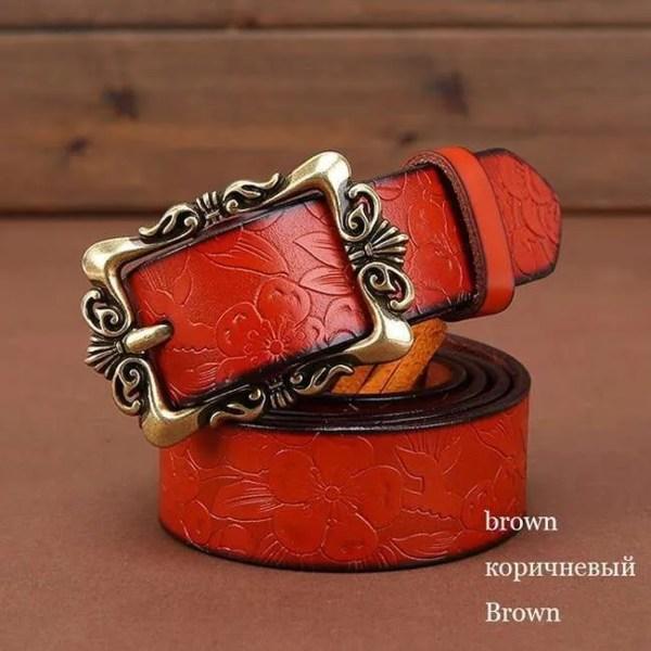 Fashion Women Leather Belts 5
