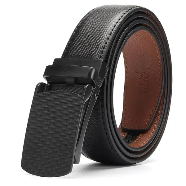 Genuine Leather Men Strap Luxury Belt 9