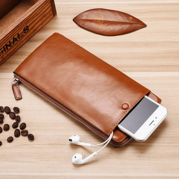 Men's Luxury High Quality Leather Wallet with Card Holder 2