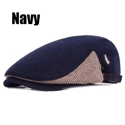New Fashion Casual Autumn Sports Berets Caps For Men and Women 8