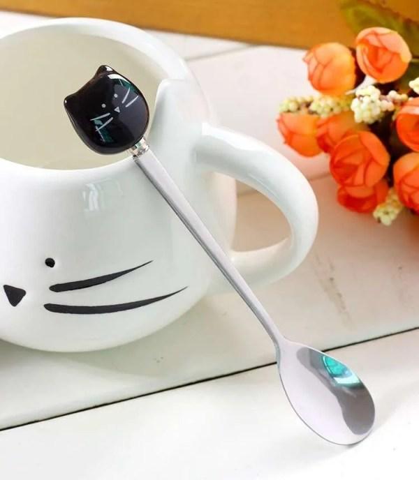 Ceramic Cute Cat Mug in 400 ml 3