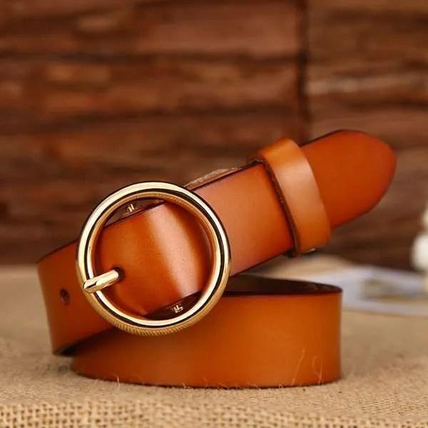 Designer Leather Belt for Women 7